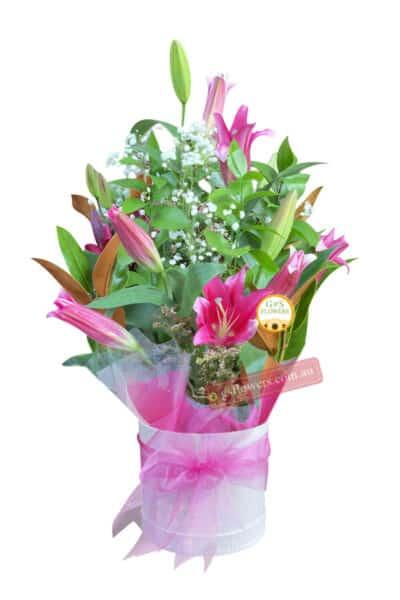 Pink Beautiful Fresh Flower Bouquet - Floral design