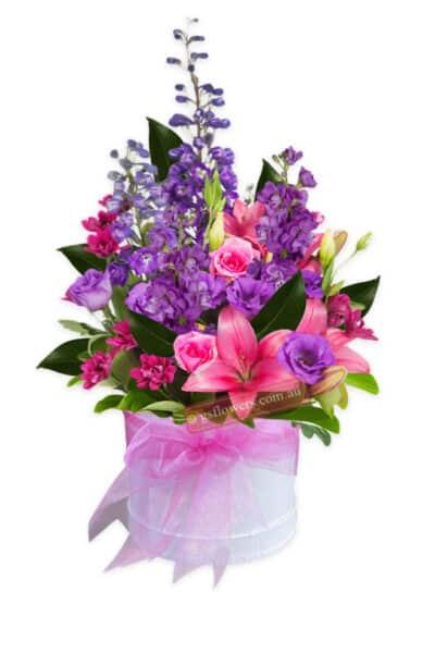 Royal Allure Fresh Mixed Flowers Bouquet - Floral design