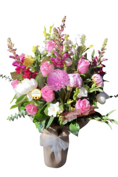 Full of Wishes Fresh Flower Bouquet - Floral design