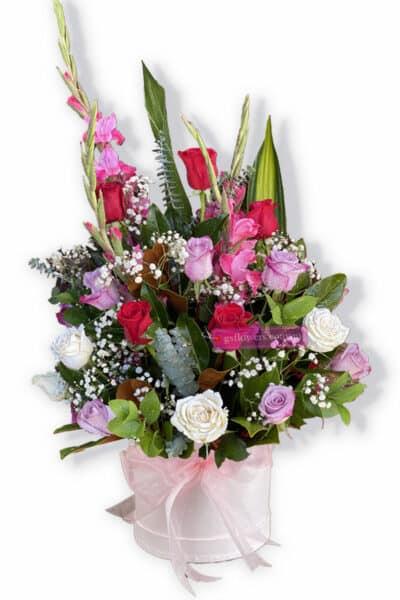 Lovely Pink Fresh Mixed Flowers - Flower
