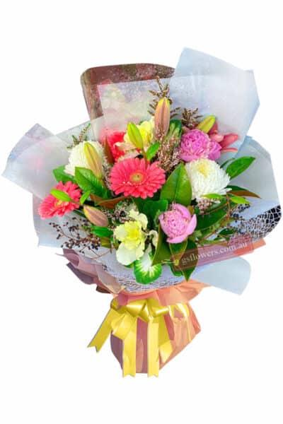 Sensational Fresh Flowers Bouquet - Floral design