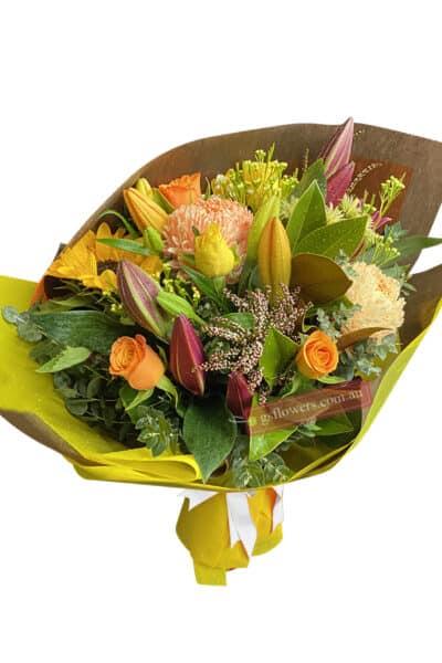 Garden Parade Fresh Flower Bouquet - Floral design