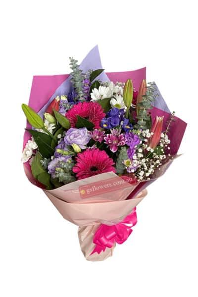Bunch of Colour Fresh Flower Bouquet - Floral design