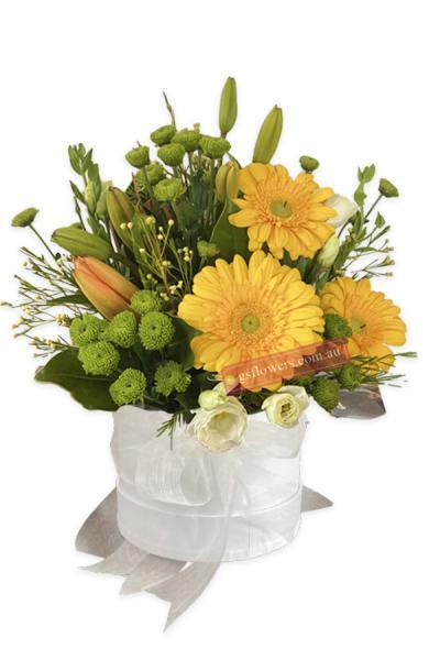 Bright Yellow Fresh Mixed Flowers - Floral design